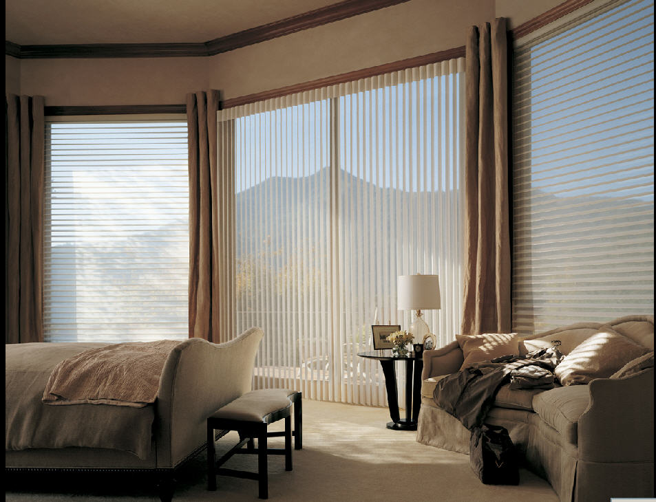Cellular shades cellular blinds honeycomb shades for Shades for bedroom windows